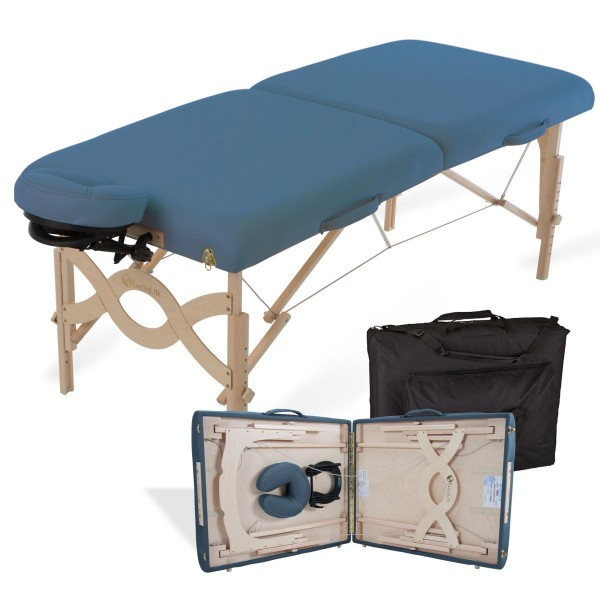 Mobile Massageliege klappbar AVALON XD - mystic blue