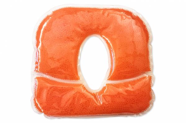 Gelkissen Pro Perle orange für eine angenehme Lagerung des Gesichtes in Bauchlage
