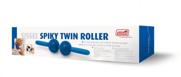 blau SISSEL Massagegerät Spiky Twin Roller