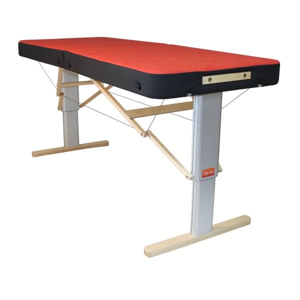 Massageliege LINEA SPORT XL elektrisch - große Liegefläche | extra robust | Kantenschutz