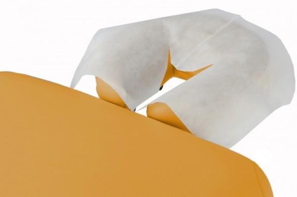 Einweg Kopfstützbezug - der perfekte hygienische Schutz - 300 Nasenschlitztücher / Einmalauflagen aus Vlies