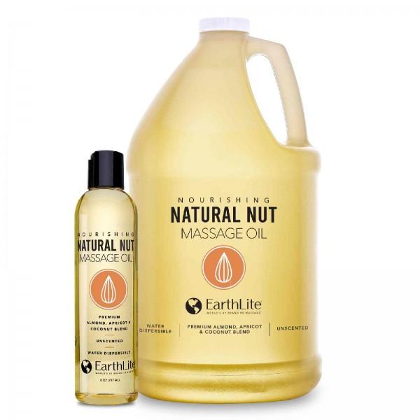 EARTHLITE Massageöl - Natürliches Nuss Massageöl | in 2 Größen erhältlich