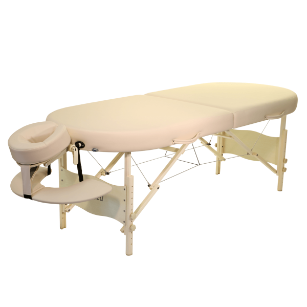 Mobile Lomi Massageliege ClapTzu - Hawaii-Form-beide