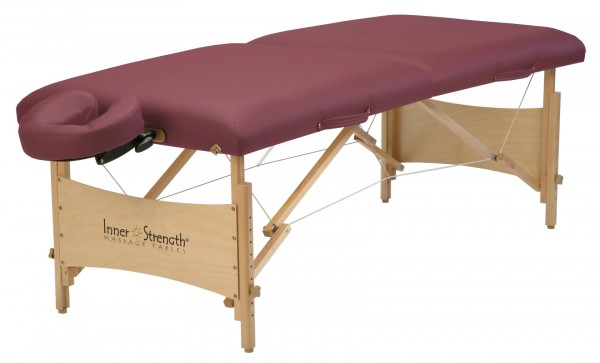 Mobile Massageliege | Inner Strength ELEMENT | Farbe - burgund