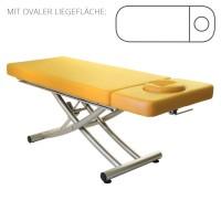 Lomi Massageliege MATERA mit Kopfteil | PU- sol (gelb)