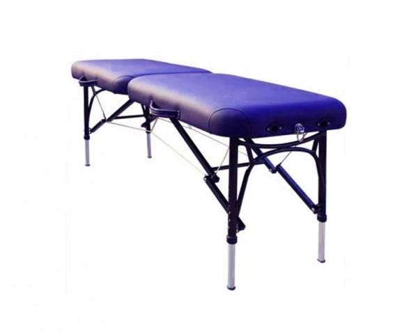 Mobile extrem leichte und schmale ALU-Massageliege