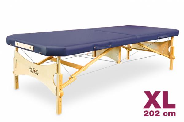 Mobile Massageliege STANDARD Pro Feldenkrais EDGE XL, abgeschrägte Ecken, Bezugsfarbe: PU-oceano