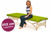Mobile Massageliege STANDARD Pro Feldenkrais XL, Bezugsfarbe: PISA-apfelgrün