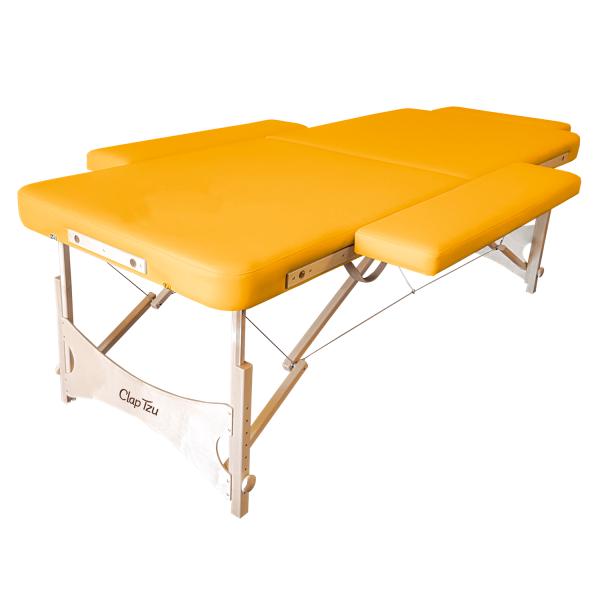 Mobile Massageliege für Klangmassage STANDARD Pro Klangliege - Farbe: sol