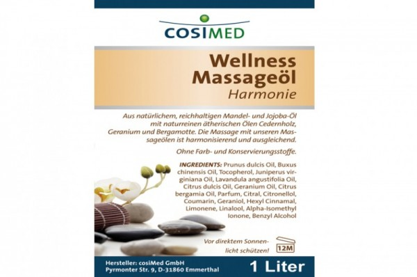 COSIMED Massageöl Wellness Harmonie - Details