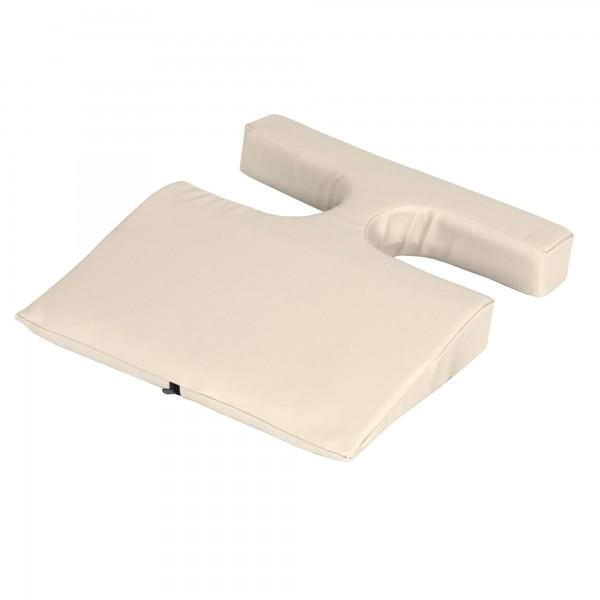 EARTHLITE Komfort-Polster mit Brustaussparungen für die Frauenmassage | mit NaturSoft-Polsterung