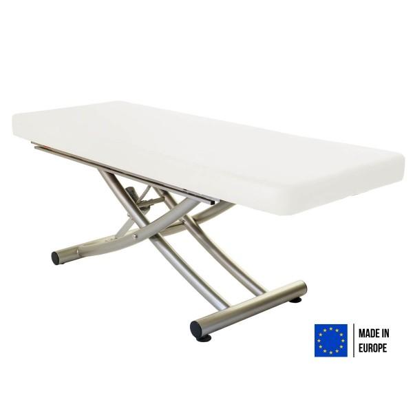Massageliege elektrisch MATERA   durchgehende Liegefläche