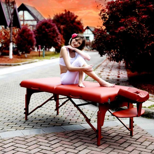 Mobile Massageliege klappbar | SANTANA