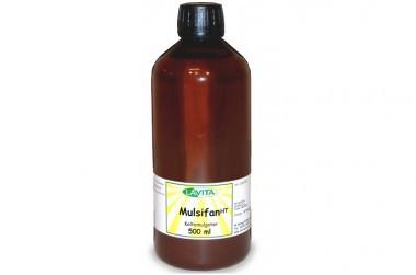 Mulsifan - Emulgator zum Reinigen stark verölten Zubehörs, Schonüberzüge und Öl-Gefäße
