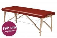 Mobile Massageliege klappbar STANDARD Pro 192 cm Länge - vino