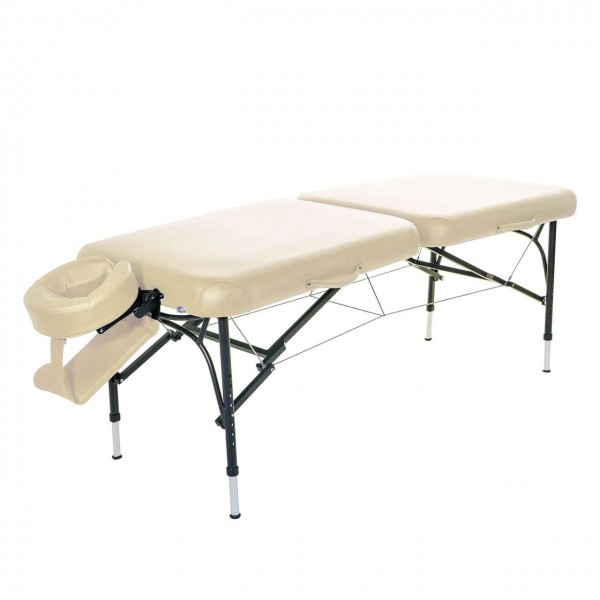 Tolles Massageliegen-Set (Alu) mit viel Zubehör