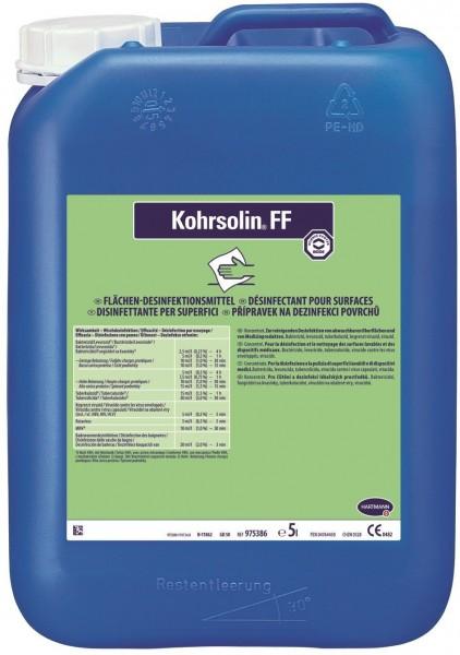 Bode Flächendesinfektionsreiniger Kohrsolin® FF | formaldehydfreier Flächen-Desinfektionsreiniger