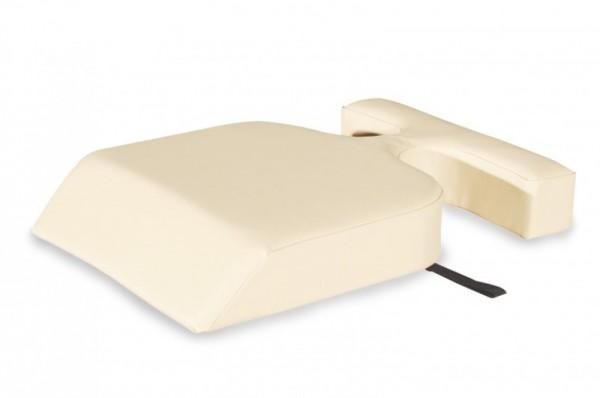 Lagerungskissen | Venuskissen - Brust-Aussparungen für eine gezielte Entlastung, unterstützt die Entspannungshaltung & ergonomische Lagerung.