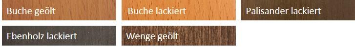 Holztoene fuer Untergestell Profi Massageliege
