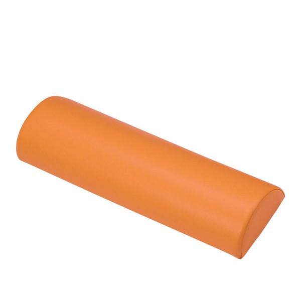 Lagerungshilfe Halbrolle | Knierolle in PISA - orange | Beispielbild ohne Größenbezug