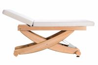 HAVANNA - elektrische stationäre Massageliege mit hochstellbaren Rückenteil