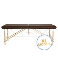Mobile Massageliege Standard Pro Atlas in XL-Ausführung, extra breit und lang, hochbelastbar bis 340 kg dynamisches Gewicht