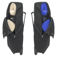 Trolleytasche Massagestuhl Ultralight von ClapTzu mit Rollen - schwarz (ohne Massagestuhl)