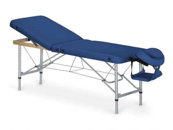 HABYS Aluminium Massagetisch AERO PLUS mit Rückenlehne