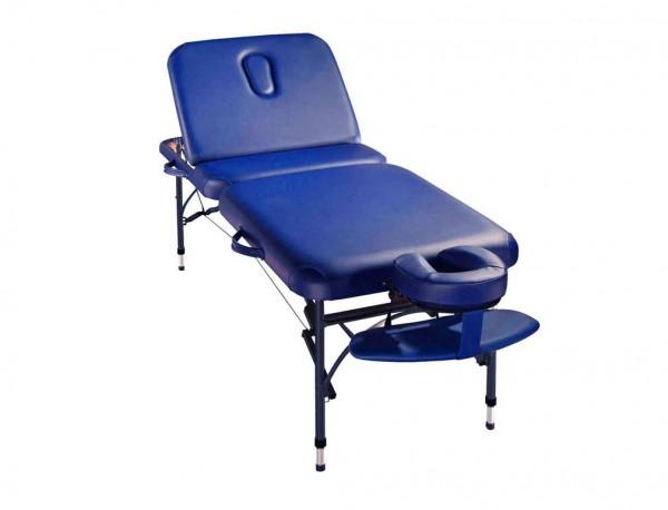 Mobile Massagebank mit anstellbaren Rückenteil für noch mehr Möglichkeiten