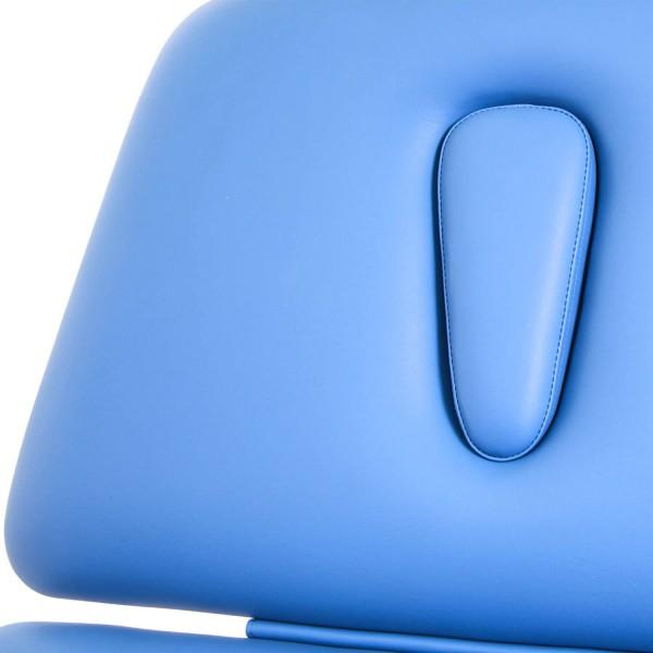 Therapieliege STOCKHOLM: ergonomisches Kopfteil mit Nasenschlitz mit intelligenter Nahtführung (minimiert Druckstellen)