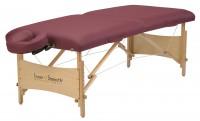 Mobile Massageliege   Inner Strength ELEMENT   Farbe - burgund