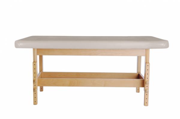 Holz-Ayuredaliege - Massageliege STABILO - 1-teilig