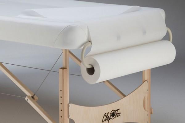 Paperrollenhalter für die Massageliege - die ideale Ergänzung