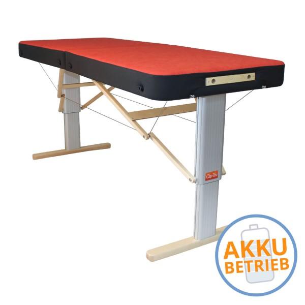 LINEA SPORT XL mit AKKU - mobile Massagebank | elektrisch | robust mit Kantenschutz
