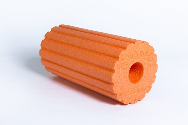 BLACKROLL® GROOVE PRO Faszienrolle - orange