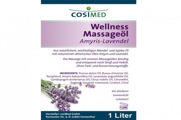 COSIMED Massageöl Amyris-Lavendel - Details