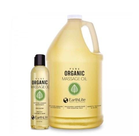 EARTHLITE Bio-Massageöl | geruchsfrei - in 2 Darreichungsgrößen erhältlich