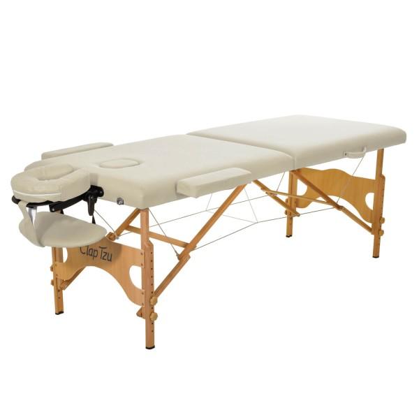 Massageliege mobil Economy Comfort Set, Farbe beige