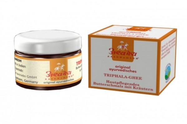 Triphala Kräuter-Ghee - indisches Ghee für Ayurveda-Massagen