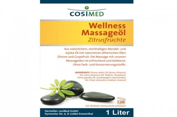 COSIMED Massageöl Zitrusfrüchte Details