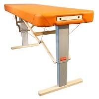 Mobile Massageliege elektrisch höhenverstellbar LINEA Physio | Kopfteil NICHT im LIeferumfang enthalten (optionales Zubehör) | Physiotherapie Polsterung,...