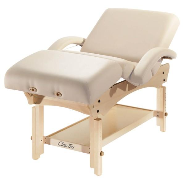 Wellnessliege COMFORT Kombi Set mit manuell verstellbarer Liegefläche