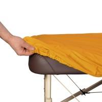 Schonbezug ölresistent, optimaler Schutz bei ölreichen Anwendungen wie Lomi Lomi / Ayurveda, Bezugsfarbe: sol