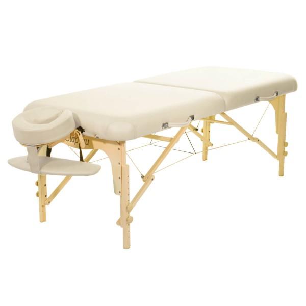 Massageliege klappbar - ClapTzu Classic Pro Set | crema