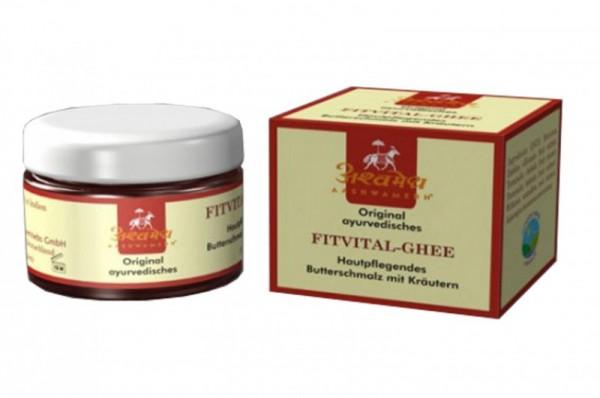 FitVital Kräuter-Ghee - indisches Ghee für Ayurveda-Massagen
