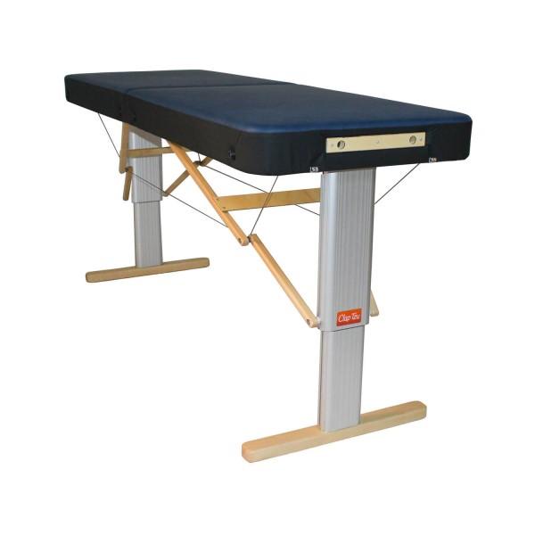 Mobile Massageliege LINEA Sport - elektrisch höhenverstellbar, robust, Kantenschutz