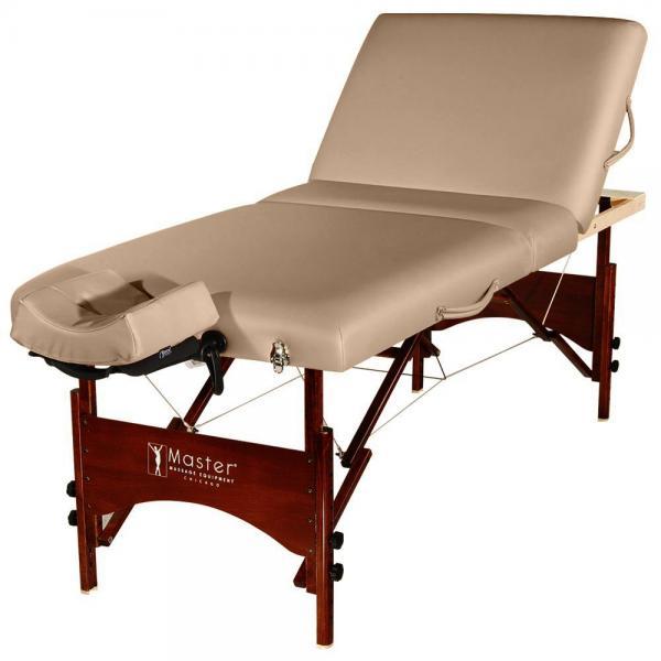 Massageliege SPA DEAUVILLE SALON mit Rückenlehne