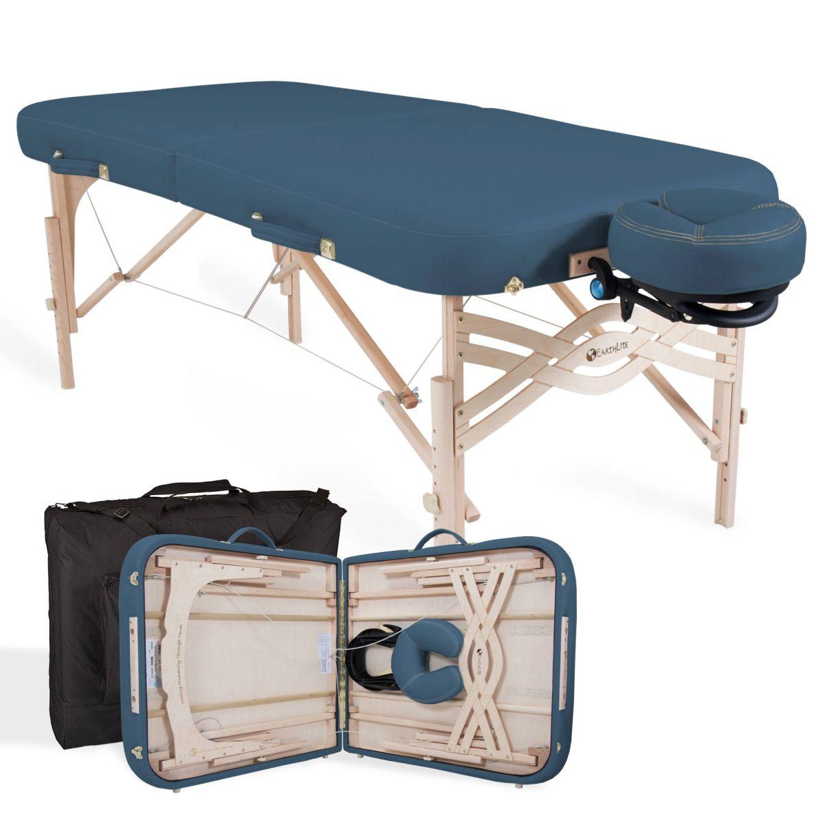 Tragbare Holz Massageliege im Set