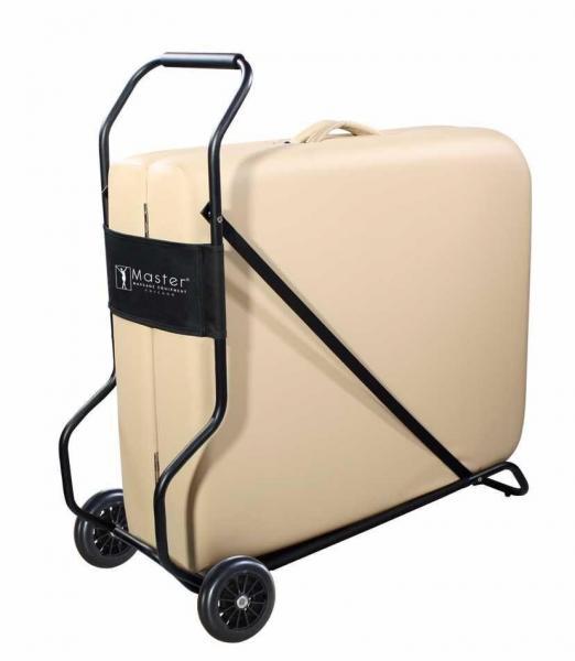 Transportwagen | Trolley für Massageliegen - die ideale Entlastung für einen einfachen Transport zum Massagekunden