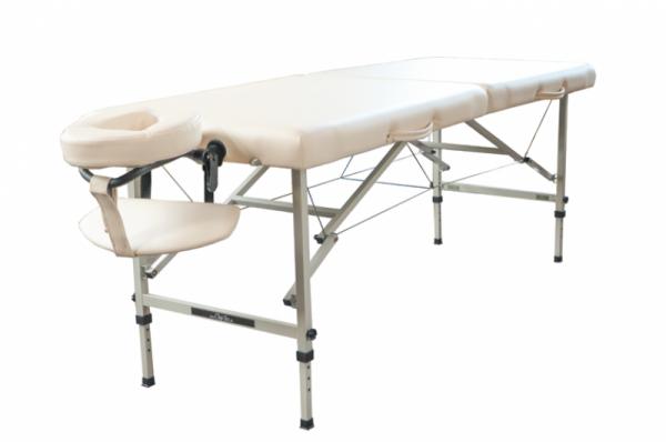 Mobiles Massageliegen-Set CLASSIC TRAVELER | Praxistaugliche, preiswerte Massageliege mit Stahlgestell.